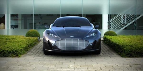 Design : Aston Martin Gauntlet Concept