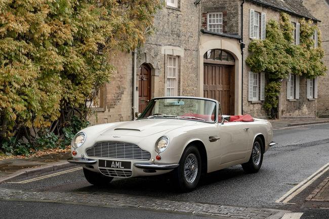 Aston Martin va électrifier ses modèles historiques