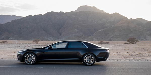Aston Martin Lagonda : les photos officielles