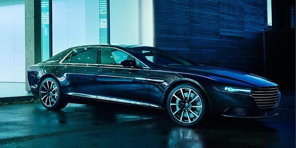Aston Martin Lagonda : nouvelles images