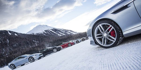 Aston Martin On Ice : tout schuss