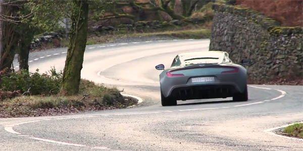 Vidéo : promenade en Aston Martin One-77