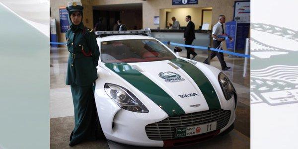 Une Aston One-77 pour la police de Dubaï