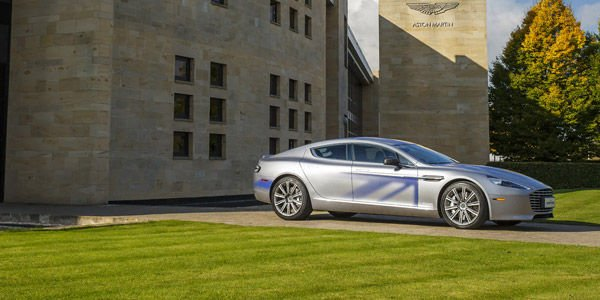 Aston Martin électrifie sa Rapide