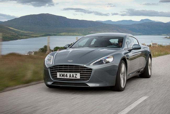 L'Aston Martin Rapide S passera en mode électrique dès 2018