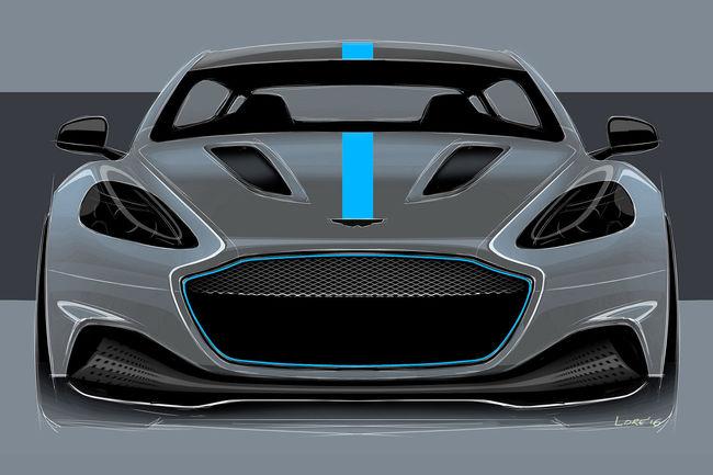 Une cavalerie électrique de 610 ch pour l'Aston Martin Rapide E