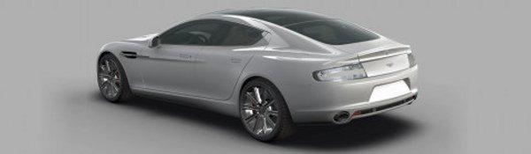Aston Martin Rapide : Premières images