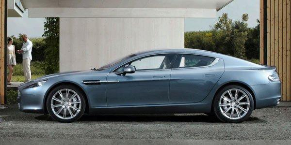 L'Aston Rapide produite à Gaydon