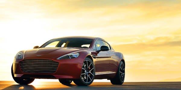 Aston Martin Rapide S : plus puissante