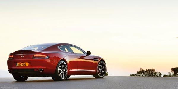 L'Aston Martin Rapide S primée