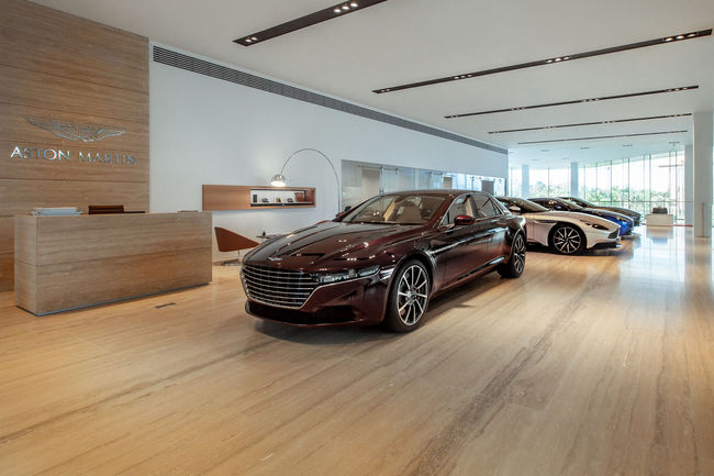 Aston Martin Lagonda ouvre un showroom à Abou Dabi