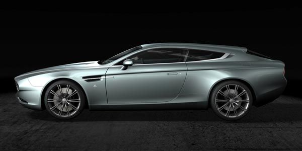Aston Martin Virage Shooting Brake by Zagato