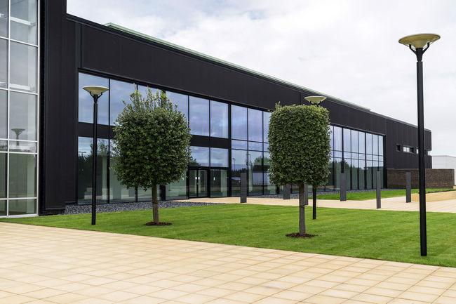 Aston Martin : première phase de travaux terminée à St Athan