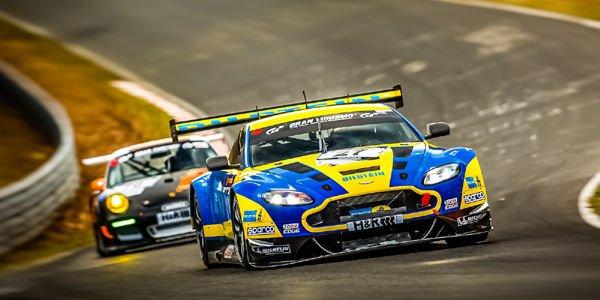 Aston Martin puissance 5 aux 24H du Nürburgring