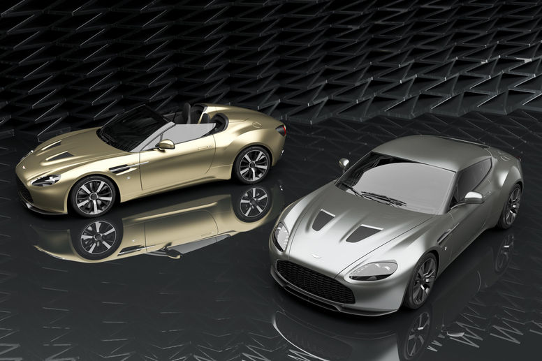 Production lancée pour l'Aston Martin Vantage V12 Zagato Heritage TWINS by R-Reforged