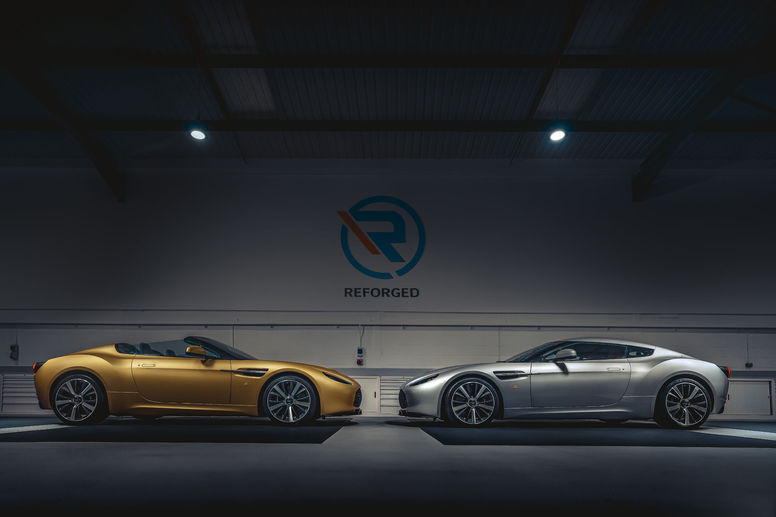 Les Aston Martin V12 Zagato Heritage TWINS by R-Reforged de la collection Zagato dévoilées