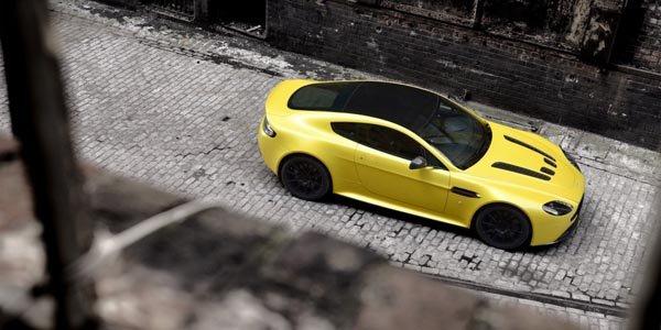 L'Aston Martin V12 Vantage S se dévoile