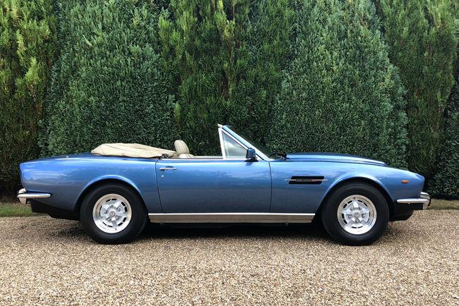 L'Aston Martin V8 Volante de Roger Daltrey aux enchères