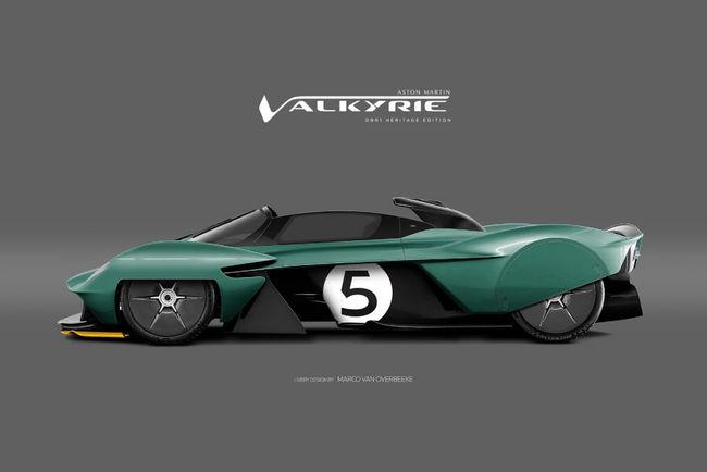 Aston Martin Valkyrie par Marco van Overbeeke