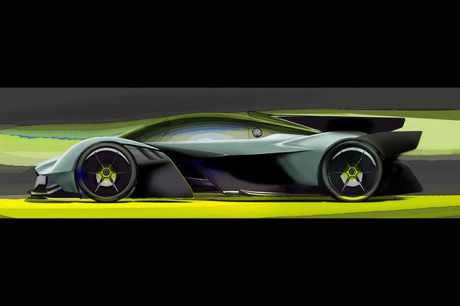 Aston Martin présente la Valkyrie AMR Pro