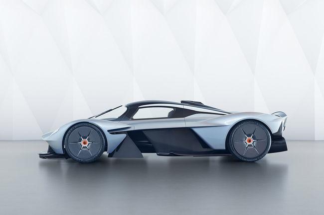 Le V12 de l'Aston Martin Valkyrie se fait entendre