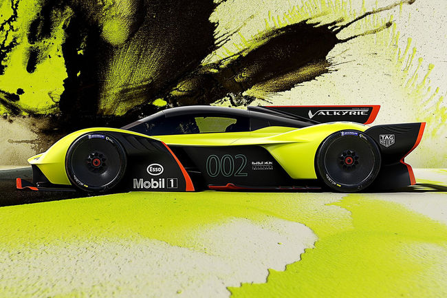 Un Track Pack pour l'Aston Martin Valkyrie ?
