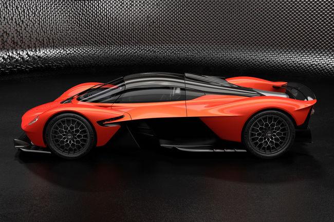 1 176 ch pour l'Hypercar Aston Martin Valkyrie