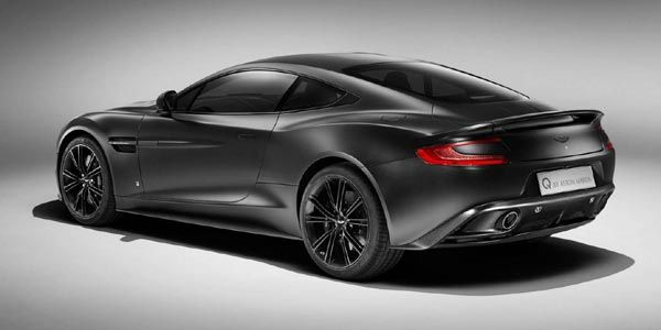 Aston Martin Vanquish Satin Jet Black