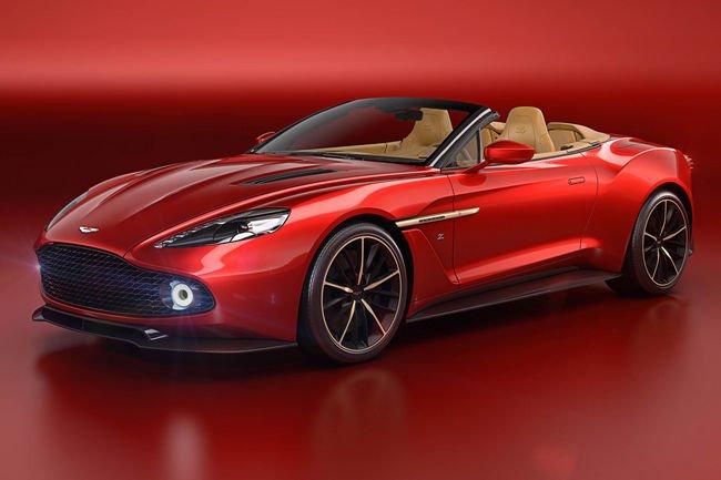 L'Aston Martin Vanquish Zagato enlève le haut