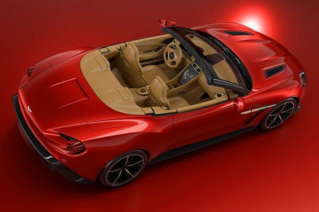 Tarif de l'Aston Martin Vanquish Zagato Volante