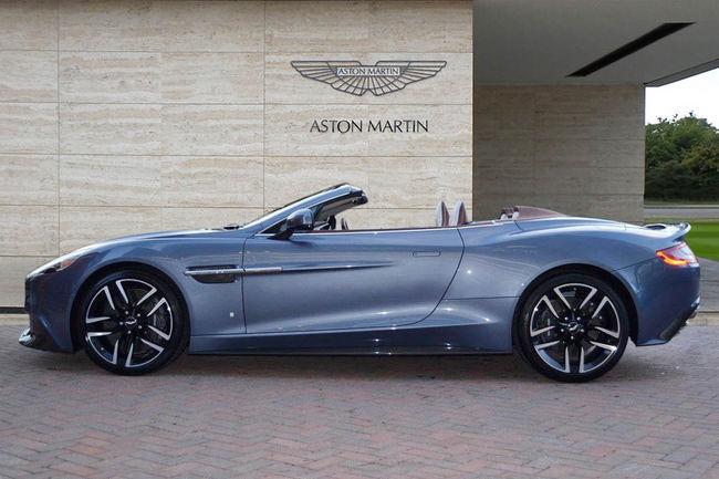 A vendre : one-off Aston Martin Vanquish Volante