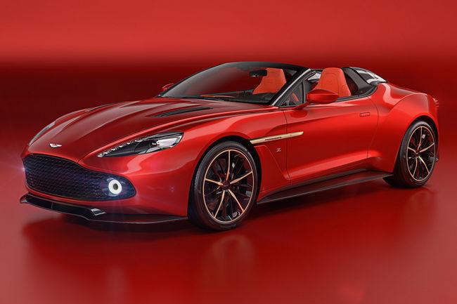 Aston Martin : nouvelles Vanquish Zagato Speedster et Shooting Brake