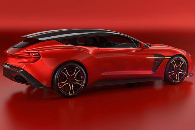 Aston Martin Vanquish Zagato Shooting Brake : nouvelles images