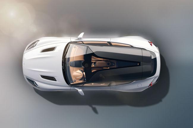 Aston Martin Vanquish Zagato Shooting Brake : l'habitacle en images