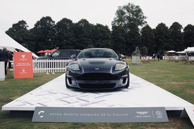 L'Aston Martin Vanquish 25 by CALLUM s'expose