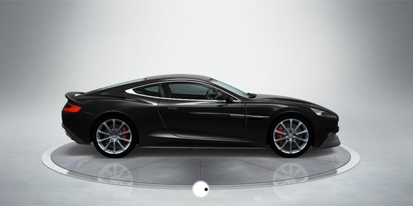 Configurez votre Aston Martin Vanquish