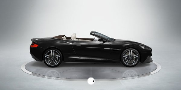 Aston Vanquish Volante : comme ça ?