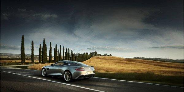 L'Aston Martin Vanquish 2012 en vidéo
