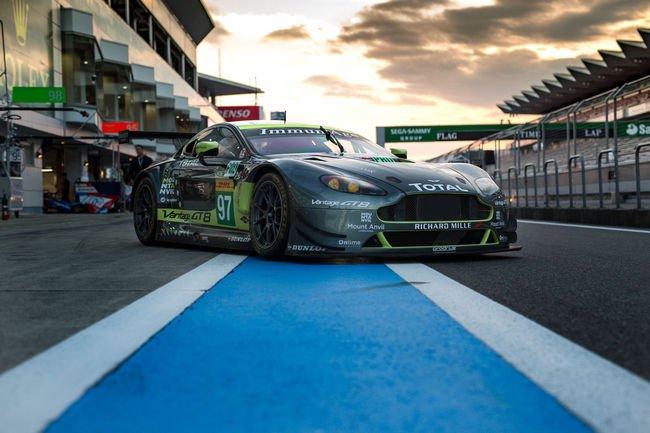 WEC : une collection pour les ailes d'Aston Martin