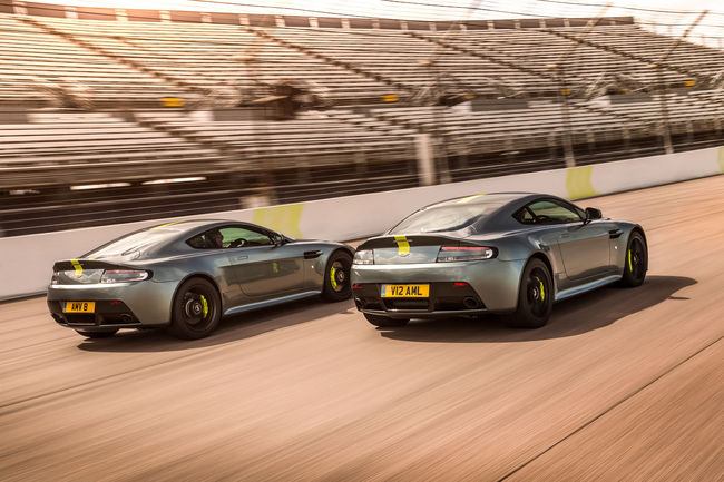 L'Aston Martin Vantage AMR entre en production