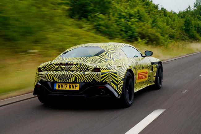 Aston Martin présente sa future Vantage