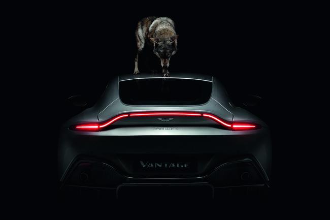 L'Aston Martin Vantage mise en images par Rankin