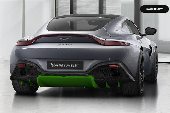 Configurez votre nouvelle Aston Martin Vantage