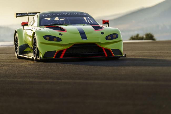 Aston Martin Vantage GTE : le film
