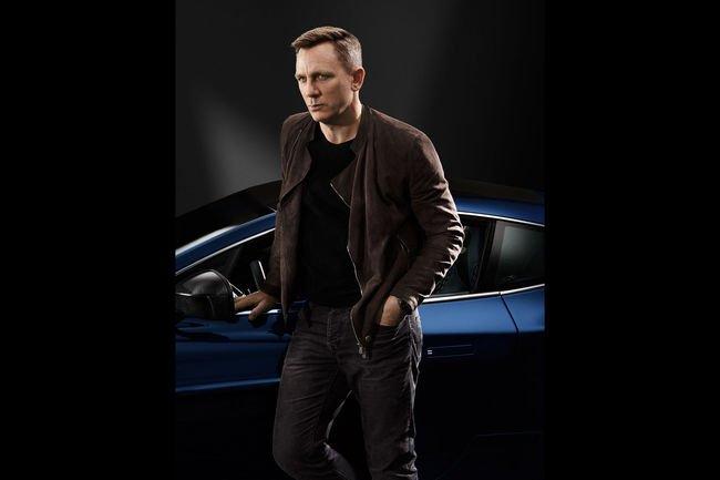 Une Aston Martin Vanquish ex-Daniel Craig aux enchères