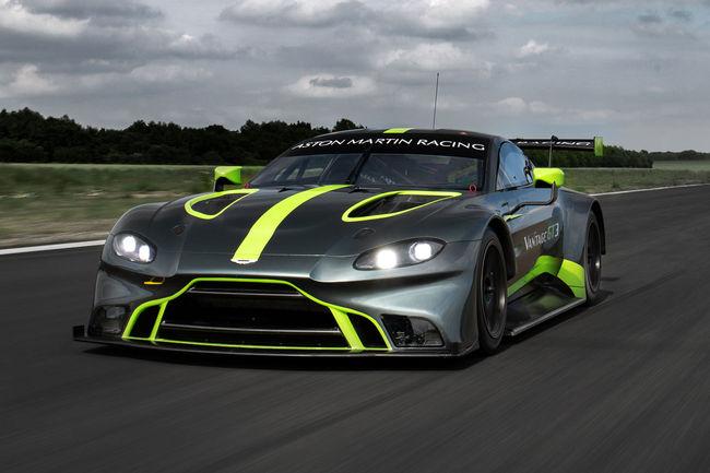 Les nouvelles Vantage GT3 et GT4 présentées au Mans