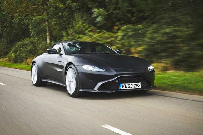 Aston Martin Vantage Roadster : premières images