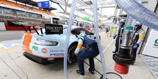 Aston Martin conserve l'avantage au Mans