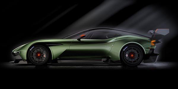 Aston Martin Vulcan : la voilà