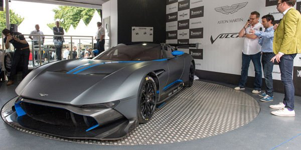 L'Aston Martin Vulcan va lâcher les chevaux à Goodwood